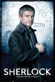 Sherlock Watson - plakat