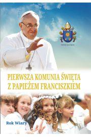 Pierwsza komunia �wi�ta z papie�em franciszkiem