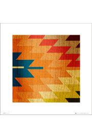 Kilim Fabric - art print