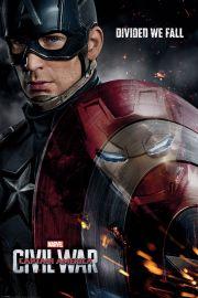 Kapitan Ameryka Wojna Bohaterów - Odbicie w Tarczy - plakat