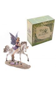 Baśnie Avalonu Ametystowy Jeździec Wróżka Lisy Parker