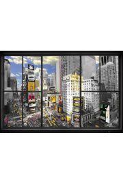 Nowy Jork Widok z okna - plakat