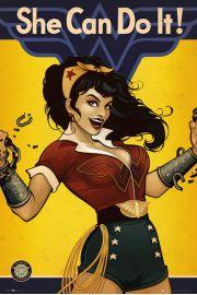 DC Comics Wonder Woman She Can Do It - plakat