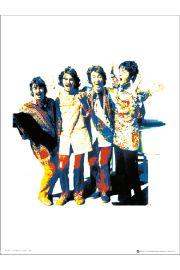 The Beatles Psychadelic - art print