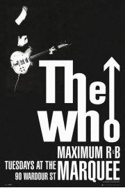 The Who - Maximum R&B - plakat