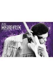 Jimi Hendrix - Purple Haze - plakat