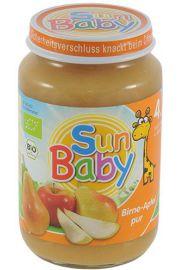 4 Mc Deser Gruszka - Jab�ko Bezglutenowy Bio 190 G - Sun Baby