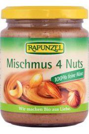Mus Z 4 Orzechów Bio 250 G - Rapunzel