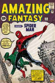 Spiderman Retro Marvel - plakat
