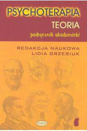 Psychoterapia Teoria Podr�cznik akademicki