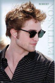 Robert Pattinson w Okularach - Zmierzch - plakat