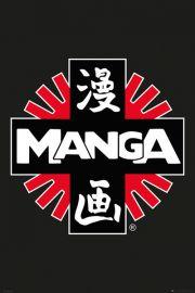 Manga Logo - plakat