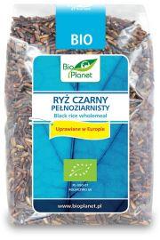 Ryż Czarny Pełnoziarnisty (Uprawiany W Europie) Bio 400 G - Bio Planet