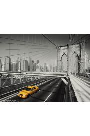Nowy Jork Yellow Cab - reprodukcja