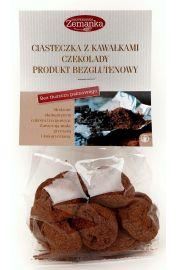 Ciasteczka Z Kawałkami Czekolady Bezglutenowe Bio 100 G - Zemanka