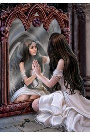 Kartki z motywem magicznego lustra