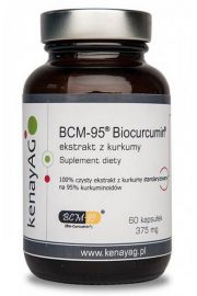 Kurkuma BCM-95® - ekstrakt (60 kapsułek) - suplement diety