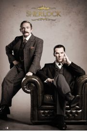 Sherlock Victorian - plakat