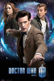 Doctor Who Trio - plakat