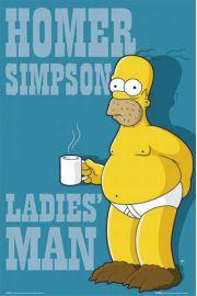 The Simpsons Idealny Mężczyzna - plakat