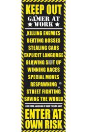 Zakaz Wst�pu - Pok�j Gracza - Wersja Dla Doros�ych - plakat