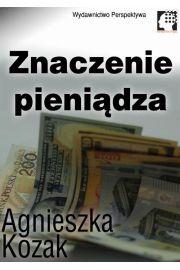 Znaczenie pieniądza