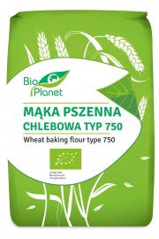 Mąka Pszenna Chlebowa Typ 750 Bio 1 Kg - Bio Planet