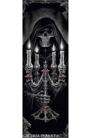 Anne Stokes Śmierć ze Świecznikiem - plakat