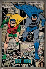 Batman i Robin - Komiks - plakat