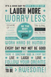 Jesteś Niesamowity - plakat motywacyjny