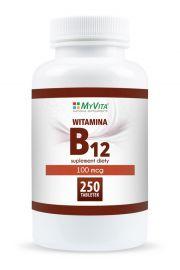 Witamina B12 100mcg MyVita 250tabl.