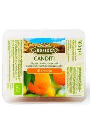 Skórka Pomarańczy Kandyzowana Bio 100 G - La Bio Idea