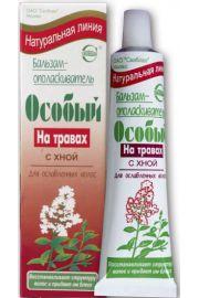 Specjalna Odżywka na bazie traw z henną Naturalna Linia Krasiva OAO Svoboda