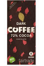 Czekolada Gorzka Z Kawałkami Kawy Fair Trade Bio 100 G - Oxfam