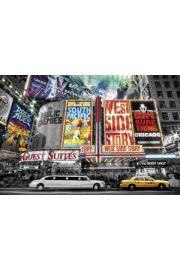 Nowy Jork Broadway - plakat