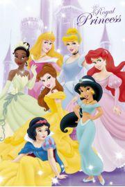 Disney Princess Ksi�niczki - plakat