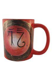 Energetyczny kubek Energii Chi, malowany ręcznie