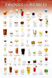 Popularne Drinki - plakat