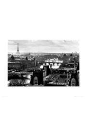 Paryż Panorama - reprodukcja