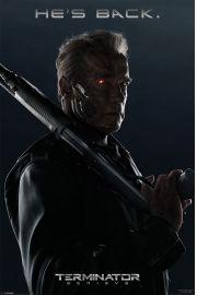 Terminator Genisys - He's Back - plakat