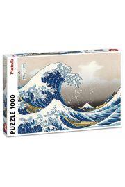 Puzzle Piatnik Hokusai Wielka fala 1000