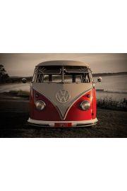 Volkswagen Camper - Klasyczna wersja - Split Screen - plakat