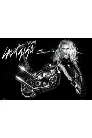 Lady Gaga Harley Davidson - plakat