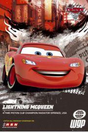 Auta 2 Cars 2 Zygzak McQueen - plakat
