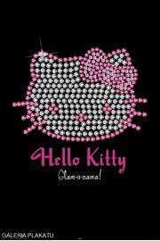 Hello Kitty Diamenty - plakat