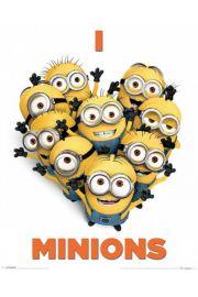 Minionki Rozrabiaj� - Kocham Minionki - plakat