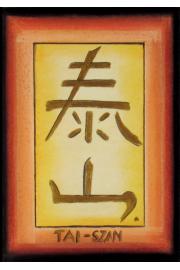 Chiński symbol TAI - SZAN