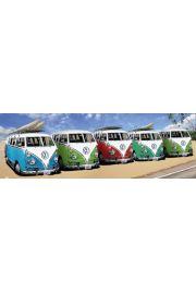 Volkswagen Californian Camper Plaża - plakat