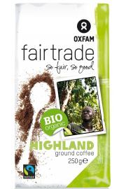 Kawa Mielona Arabica Wysokogórska Fair Trade Bio 250 G - Oxfam