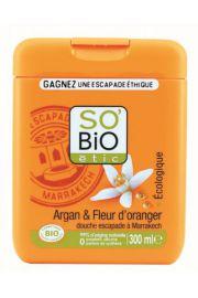 SO BIO, Żel pod prysznic Agran i Kwiat Pomarańczy, 300 ml